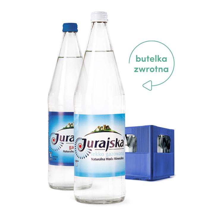 woda w szklanych butelkach zwrotnych wrocław